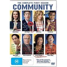 COMMUNITY-Season 1-Region 4-New AND Sealed-4 DVDs Set