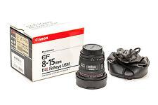 Canon EF 8-15mm f/4L Fisheye USM Lens 4427B002