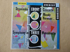 Stravinsky - Ebony Concerto - London - Goossens - EVEREST (01327)
