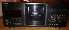 Sony DVP-CX985V 400 Disc CD/ DVD Player, Jukebox With Remote!!