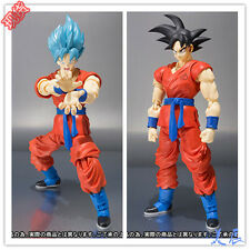 NEW 6.8'' Dragon Ball Z In Box Super Saiyan God SS Son Goku Gokou Figure Toy