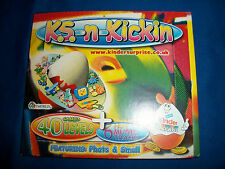 K. S.-n-KICKIN CD-Rom KINDER SURPRISE Computer Game MAIL-IN PROMOTION 1999 UK