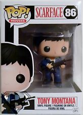 "TONY MONTANA Scarface Pop Movies 4"" inch Vinyl Figure #86 Funko 2014"