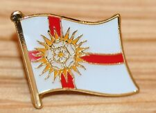 YORKSHIRE - WEST RIDING England County Flag Enamel Pin Badge UK Great Britain