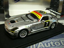 MERCEDES BENZ SLS AMG GT3 Black Falcon 24h Dubai 2011 Heyer Jäger Seyf Spa 1:43