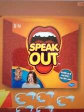 SPEAK OUT BOARD GAME -NOT A PRE ORDER ,  IN HAND - SHIPS NOW! NEW by HASBRO