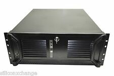 4U RACKMOUNT CHASSIS BLACK COMPUTER SERVER CASE 8 DRIVE BAY FULL ATX LITE WEIGHT