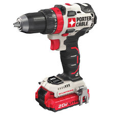 Porter-Cable PCCK607LB 20V MAX Cordless Lithium-Ion Brushless 1/2 in.Driver Kit