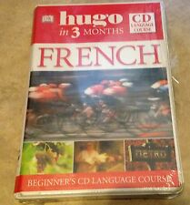 Hugo French in Three 3 Months Book and CD Language Course NEW factory sealed