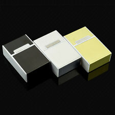 3 Color Aluminum Metal Tobacco Cigarette Pocket Storage Cigar Case Box Holder