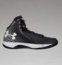 New Under Armour  Men's( 12.5 ) Micro G Torch Basketball Shoes-Black / white