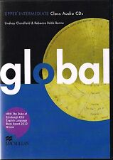Macmillan GLOBAL Upper-Intermediate Class Audio CDs I Clandfield Benne @NEW@