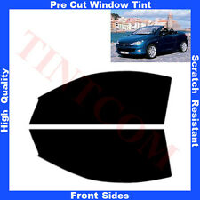 Pre Cut Window Tint  Peugeot 206 2 Doors Cabrio 2001-2008 Front Sides Any Shade