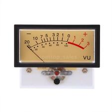 New Clear Plastic Shell Frame VU Level Meter Panel For Audio Recorder Equipment