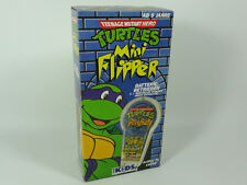 TEENAGE MUTANT HERO TURTLES TARTARUGHE NINJA - MINI FLIPPER - FOR KIDS - 1991