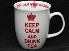 CREATIVE TOPS KEEP CALM And DRINK TEA WHITE Porcelain Mug