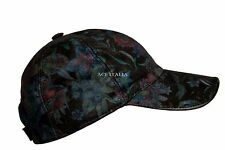 New BASEBALL Cap Vintage Floral Sport Golf Ladies Real Fabric HipHop Hat