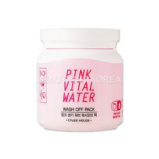 [ETUDE HOUSE] Pink Vital Water Wash Off Pack 100ml / Powerful moisturizing