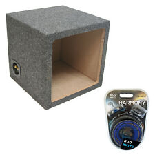 "Square Kicker 15"" Sealed L3 L5 L7 Solobaric Subwoofer Box Sub Enclosure Amp Kit"