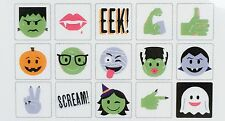Heidi Swapp Lightbox Icon Inserts- Halloween Emoji Spooks Witch Monster 15 Pcs