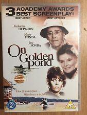 Henry Jane Fonda Katharine Hepburn ON GOLDEN POND ~ 1981 Drama | UK DVD