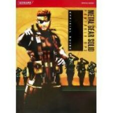 Metal Gear Solid Portable Ops Official strategy guide book /PSP