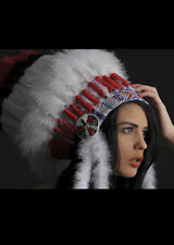Deluxe Indian Feather Headress