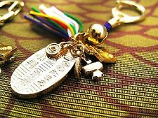 JAPANESE OMAMORI Charm Key Chain KOBAN Good luck For Rich Money from Japan
