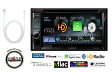 "Kenwood DDX6902S 6.2"" DVD Receiver w/ Apple Car Play & Lightning to USB Adapter"