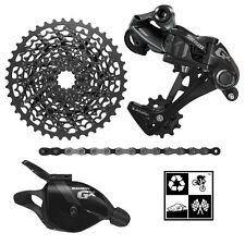 Sram GX 4-peice mini-group 1x11 10-42T drivetrain BLACK/GREY trail enduro NEW!