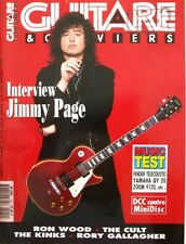 Guitare & Claviers n°140 - 1993  - Jimmy Page - Ron Wood - The Cult - The Kinks