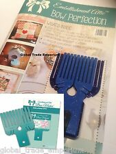 Embellishment Attic 66 Page Magazine + Mini Midi & Small BOW MAKERS + DVD Bundle