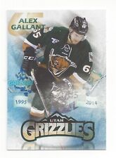 2014-15 Utah Grizzlies Alex Gallant (San Jose Barracuda)