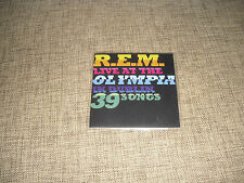R.E.M. / REM - LIVE AT THE OLYMPIA IN DUBLIN - 5 TRACK DJ ADVANCE PROMO SAMPLER