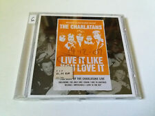 "THE CHARLATANS ""LIVE IT LIKE YOU LOVE IT"" CD 14 TRACKS PRECINTADO SEALED"