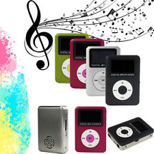 Mini LCD Screen USB Digital MP3 Player Support 32GB Micro SD TF Card 3.5mm Jack