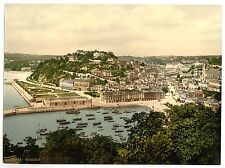 8 Victorian Views of Torquay Cockington Forge Church Old Vintage Photos Set NEW