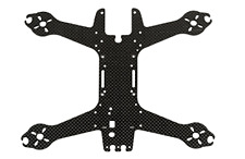 Spedix Black Knight 210 replacement upper carbon fiber frame plate (SPX-83057)