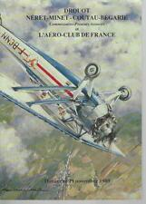 Catalogue de vente AERONAUTIQUE AVION AVIATION AFFICHE ANCIENNE MODERNE 1989
