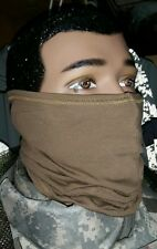 US MILITARY ISSUE NECK GAITER COYOTE TAN  HUNTING  COLD WEATHER  USMC NWT