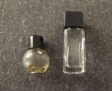 2 VINTAGE DIFFERENT ARPEGE LANVIN PARIS MINIATURE PERFUME BOTTLES