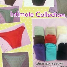 Intimate collection undergarments