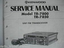 KENWOOD TR-7800/7850 (SERVICE MANUAL ONLY)............RADIO_TRADER_IRELAND.