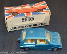 CORGI JUNIORS No 56190 AUSTIN MINI METRO DIE-CAST CAR BEST OF BRITISH IN BOX