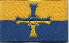 Embroidered COUNTY DURHAM Flag Iron on Sew on Patch Badge HIGH QUALITY APPLIQUE