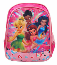 TINKERBELL FAIRIES SECRET OF THE WINGS GIRLS KIDS PRESCHOOL BACKPACK SCHOOL BAG
