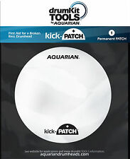 Aquarian KICK PATCH DAMAGED BASS DRUMHEAD REPAIR PATCH