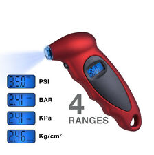 LCD Digital Tire Tyre Air Pressure Gauge Tester For Car Auto Motorcycle 150PSI