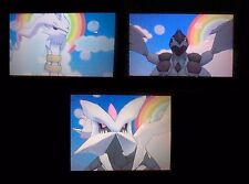 "Shiny 6IVs Pack ""Guide""! Reshiram, Zekrom and Kyurem for Pokemon X/Y OR/AS"