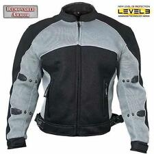 Xelement CF-511 Mesh Sports Armored Motorcycle Jacket size XL